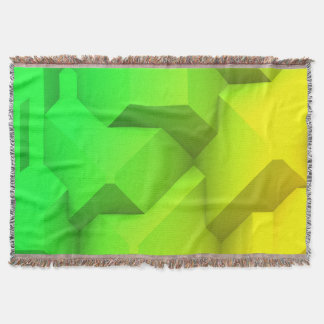 Poly Fun 2B Throw Blanket