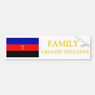 Poly Pride Family Made with Pride Bumper Sticke Bumper Sticker