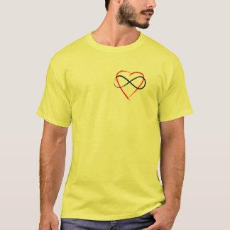 Poly symbol brush finish. T-Shirt