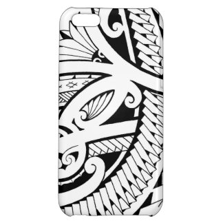 Poly tattoo design tribal elements iPhone 5C case