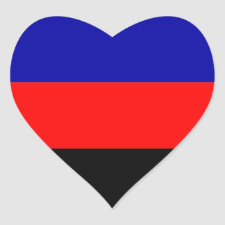 Polyamorous Pride Heart Sticker