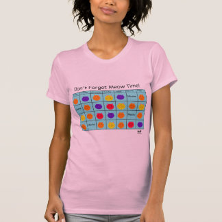 Polyamory Cat: Meow Time T-Shirt