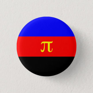 Polyamory flag button
