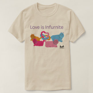 Polyamory Heart Cats T-Shirt