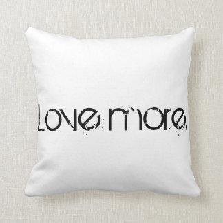 Polyamory Love More Pillow
