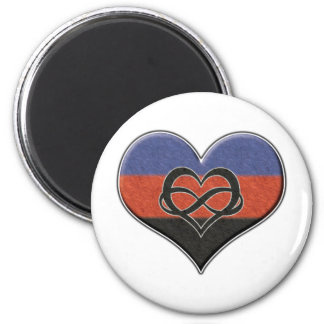 Polyamory Pride Heart Magnet