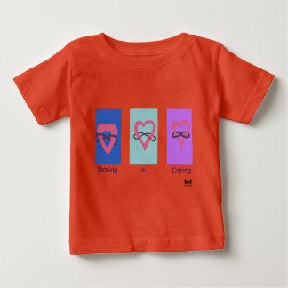 Polyamory: Sharing is Caring/ Poly Logos Baby T-Shirt
