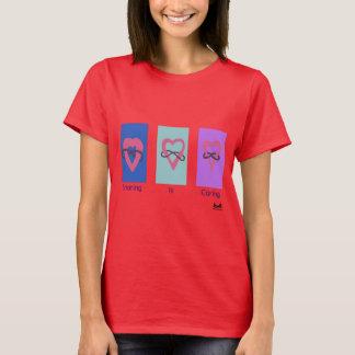 Polyamory: Sharing is Caring/ Poly Logos T-Shirt