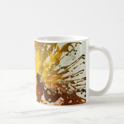 Polychromoptic #10 by Michael Moffa Coffee Mugs