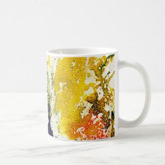 Polychromoptic #13B by Michael Moffa Basic White Mug