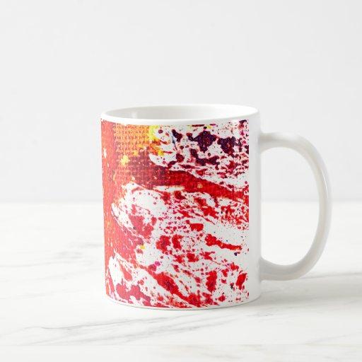 Polychromoptic #13C by Michael Moffa Coffee Mug