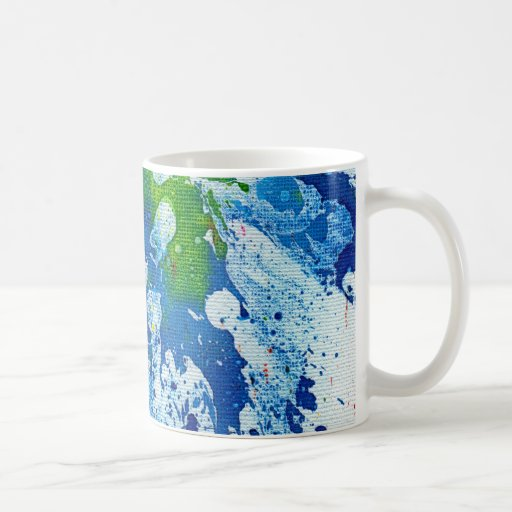 Polychromoptic #14 by Michael Moffa Coffee Mugs