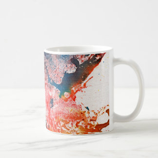 Polychromoptic #15 by Michael Moffa Basic White Mug