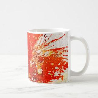 Polychromoptic #9 by Michael Moffa Basic White Mug