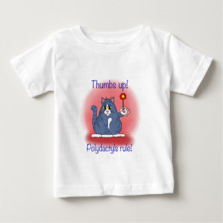 Polydactyls Rule! Baby T-Shirt