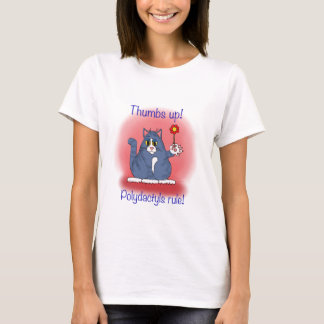 Polydactyls Rule! T-Shirt