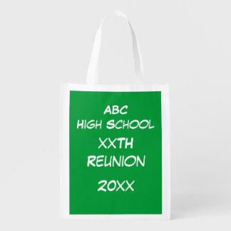 Polyester Bag - Green Chalk Board