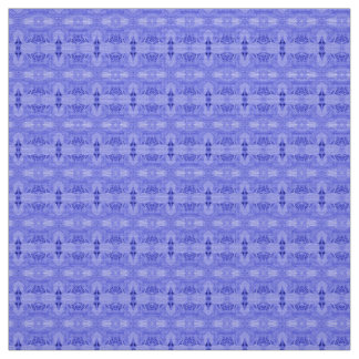 Polyester fabric blue custom
