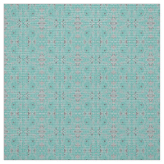 Polyester fabric blue turquoise gray custom