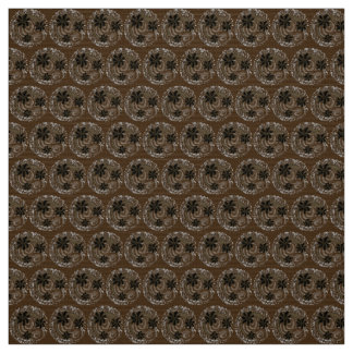 Polyester Fabric  Brown Gray custom