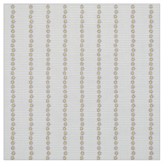 Polyester fabric  gray floral custom
