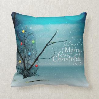 "Polyester Throw Pillow 16"" x 16"" - Beach - Merry"
