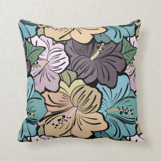 Polyester Throw Pillow Hawaiian Style