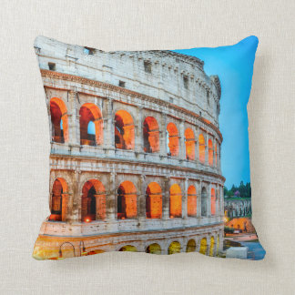 Polyester Throw Pillow, Throw Pillow Colosseum