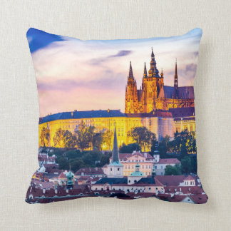 Polyester Throw Pillow, Throw Pillow Prague