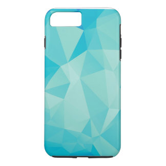 Polygon Blue iPhone 7 Plus Case