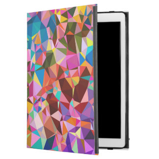 Polygon Color Pattern iPad Pro Case
