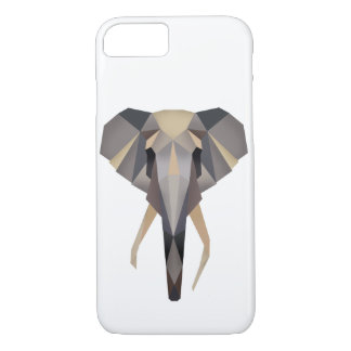 Polygon elephant iPhone 8/7 case