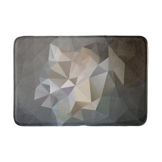 Polygon Geometric Abstract Design Bath Mat