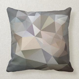 Polygon Geometric Abstract Pattern Pillow