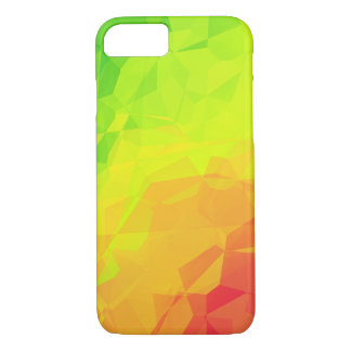 Polygon Gradient Citrus iPhone 7 case