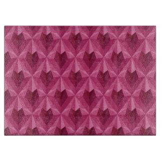 Polygon Heart Cutting Board