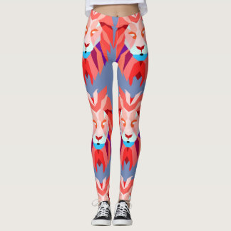 Polygon Lion Leggings