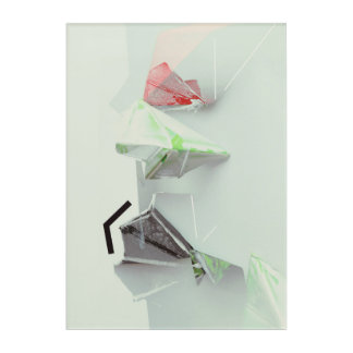 Polygon Minimal Acrylic Wall Art