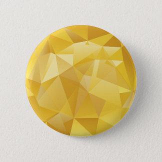 polygon pattern 6 cm round badge