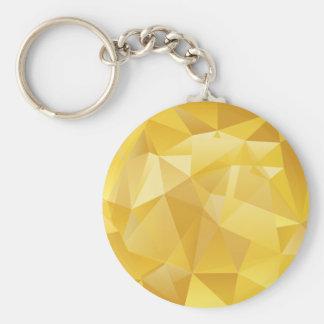 polygon pattern key ring