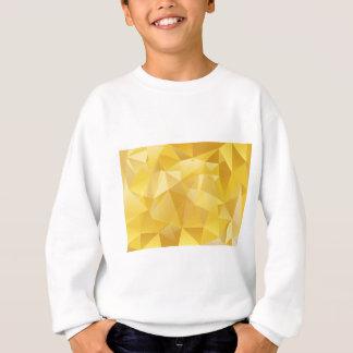 polygon pattern sweatshirt