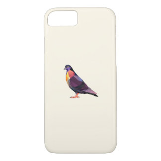 Polygon Pigeon for iPhone 7 Barely There case. iPhone 7 Case