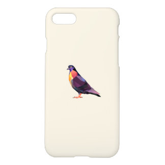 Polygon pigeon for iPhone 7 matte case. iPhone 7 Case