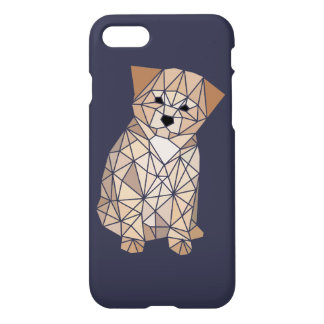 Polygon Puppy iPhone 7 Case