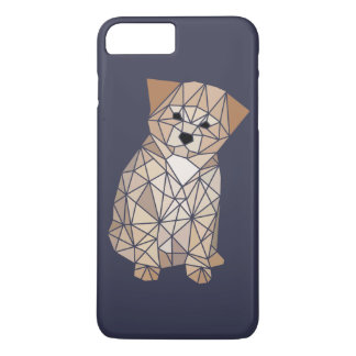 Polygon Puppy iPhone 7 Plus Case
