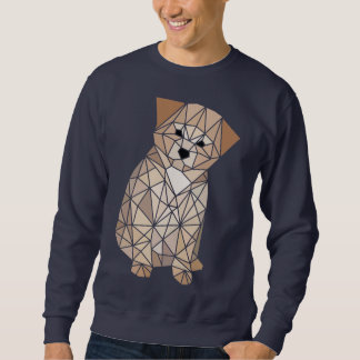 Polygon Puppy Sweatshirt