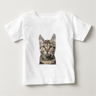 Polygonal cat baby T-Shirt