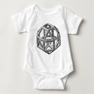 Polyhedra. Baby Bodysuit