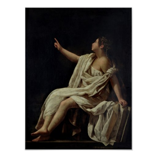 Polyhymnia, the Muse of Lyric Poetry, 1620 Poster