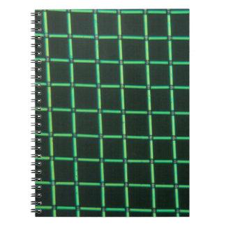 Polylactic acid under the microscope notebooks